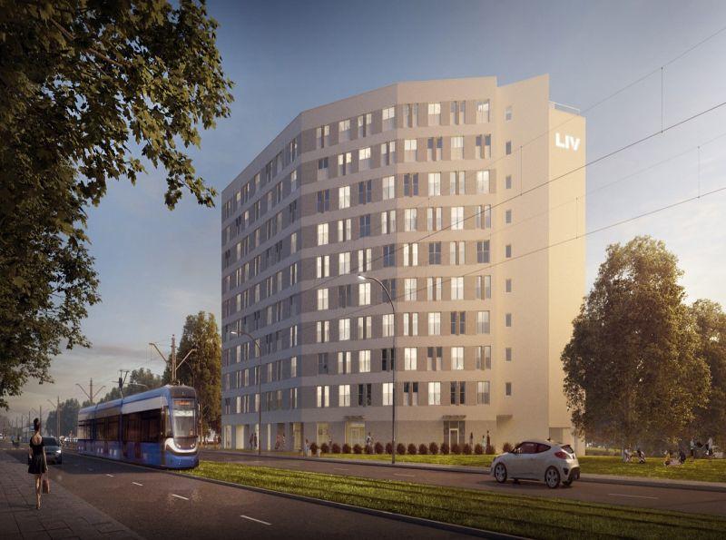 Nowe mieszkanie Kraków 22.58m2, apartamenty na sprzedaż