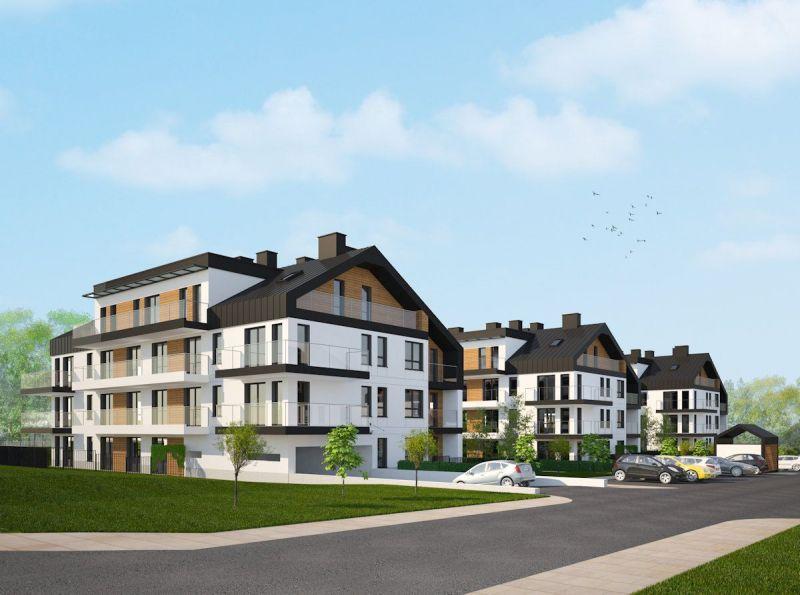 Nowe mieszkanie Kraków 72.26m2, mieszkanie na sprzedaż
