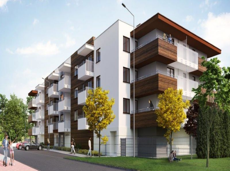 Nowe mieszkanie Kraków 60.95m2, mieszkanie na sprzedaż