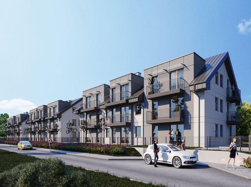 Nowe mieszkanie Kraków 60.66m2, mieszkanie na sprzedaż