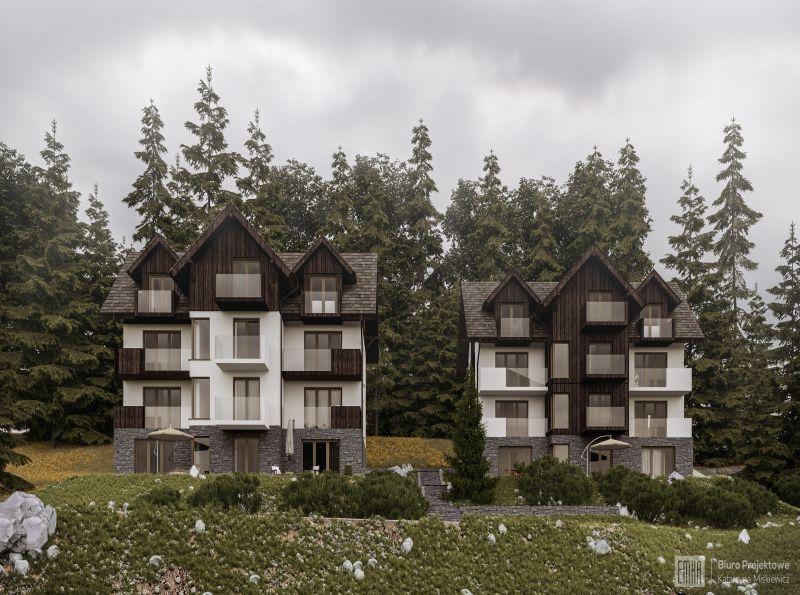 Nowe mieszkanie Szklarska Poręba 42.11m2, apartamenty na sprzedaż