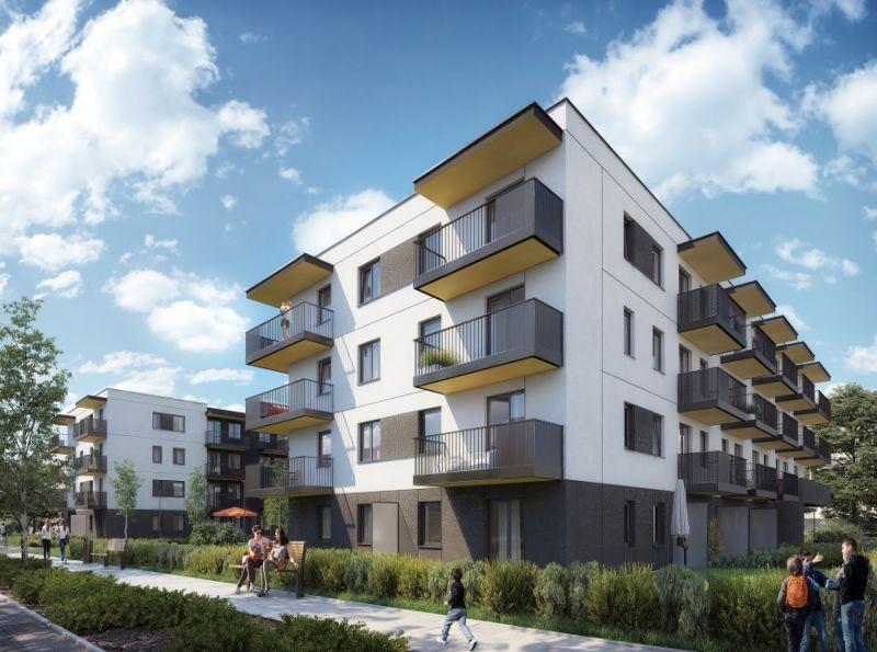 Nowe mieszkanie Kraków 39.79m2, mieszkanie na sprzedaż