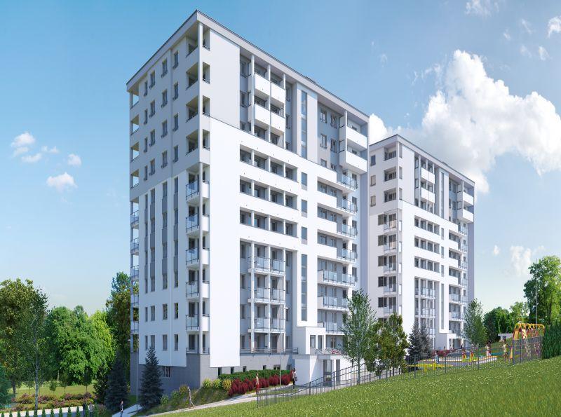 Nowe mieszkanie Kraków 48.72m2, mieszkanie na sprzedaż