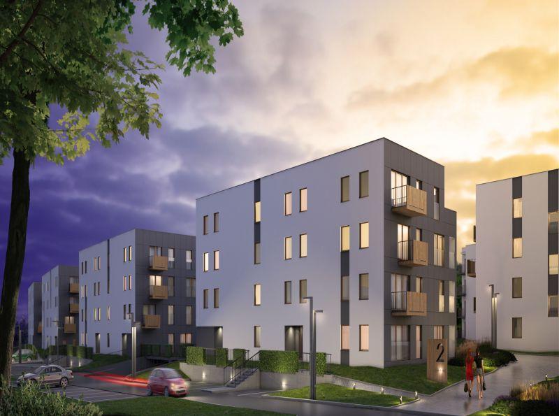 Nowe mieszkanie Kraków 57.88m2, mieszkanie na sprzedaż