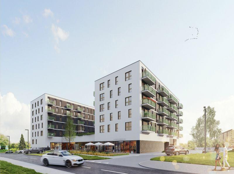 Nowe mieszkanie Kraków 51.76m2, mieszkanie na sprzedaż