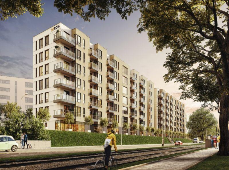 Nowe mieszkanie Kraków 47.50m2, mieszkanie na sprzedaż