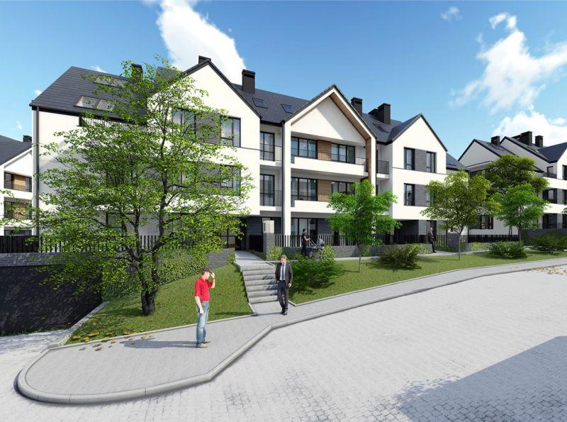 Nowe mieszkanie Wieliczka 70.41m2, mieszkanie na sprzedaż