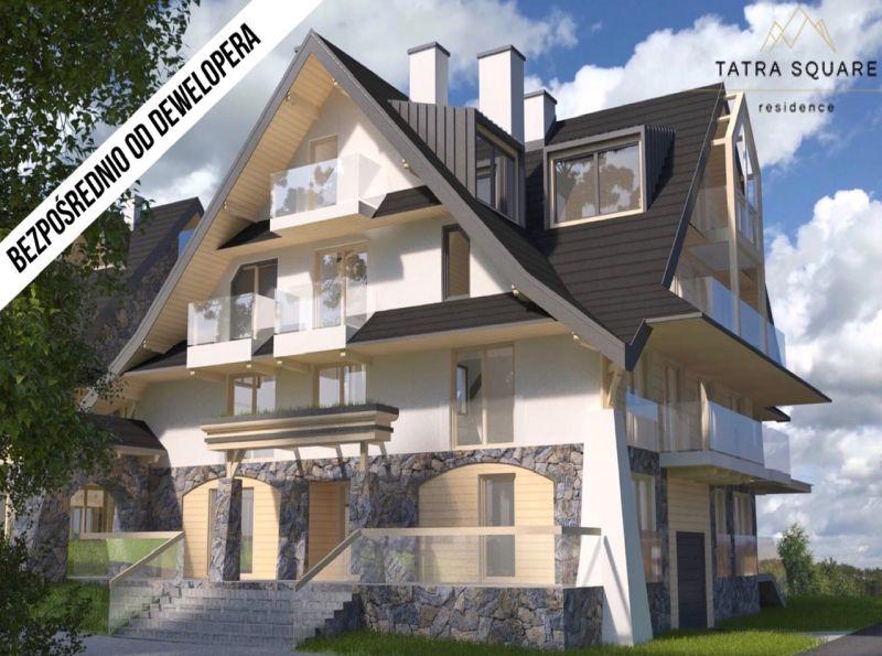 Nowe mieszkanie Zakopane 43.90m2, mieszkanie na sprzedaż