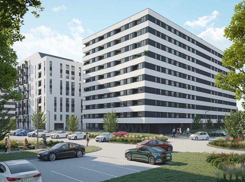 Nowe mieszkanie Kraków 50.64m2, mieszkanie na sprzedaż