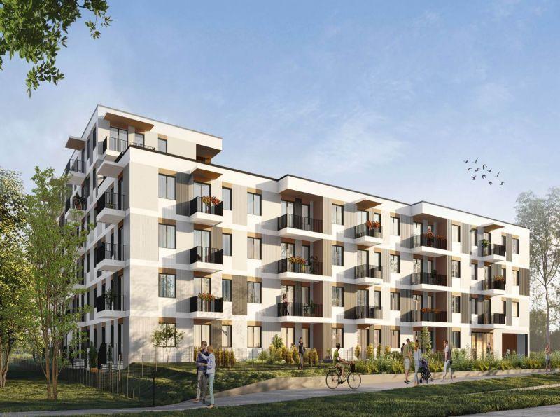 Nowe mieszkanie Poznań 48.37m2, mieszkanie na sprzedaż