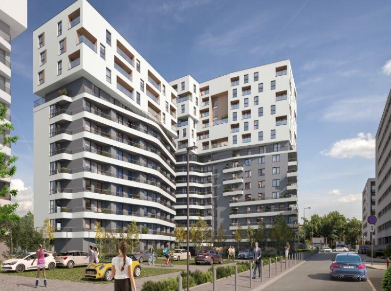 Nowe mieszkanie Kraków 46.39m2, mieszkanie na sprzedaż