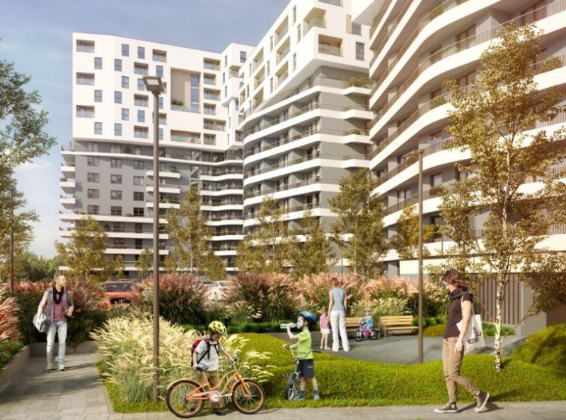 Nowe mieszkanie Kraków 57.05m2, mieszkanie na sprzedaż