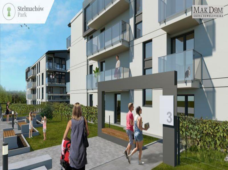Nowe mieszkanie Kraków 38.01m2, mieszkanie na sprzedaż