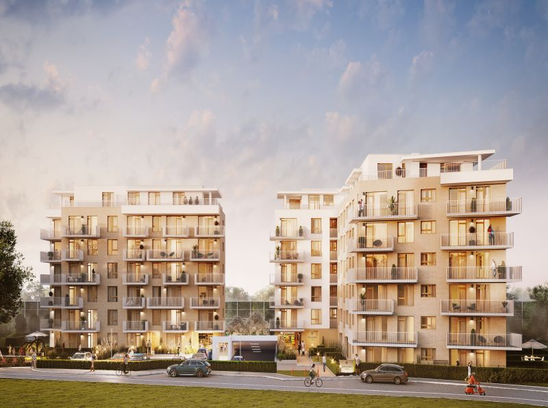 Nowe mieszkanie Kraków 37.35m2, mieszkanie na sprzedaż