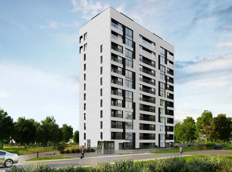 Nowe mieszkanie Kraków 63.27m2, mieszkanie na sprzedaż