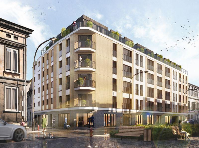 Nowe mieszkanie Kraków 45.78m2, mieszkanie na sprzedaż