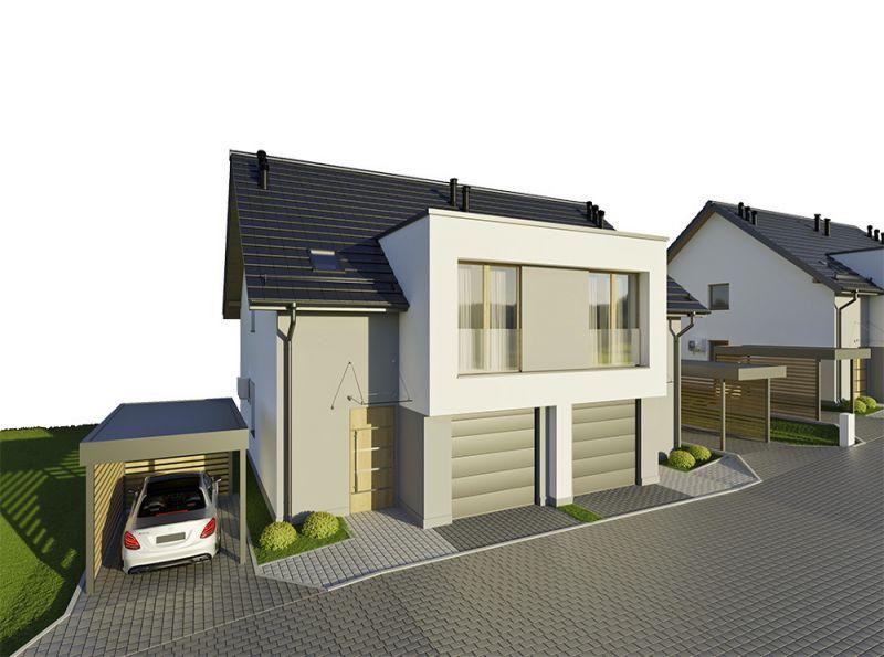 Nowy dom Giebułtów 114.03m2, dom na sprzedaż