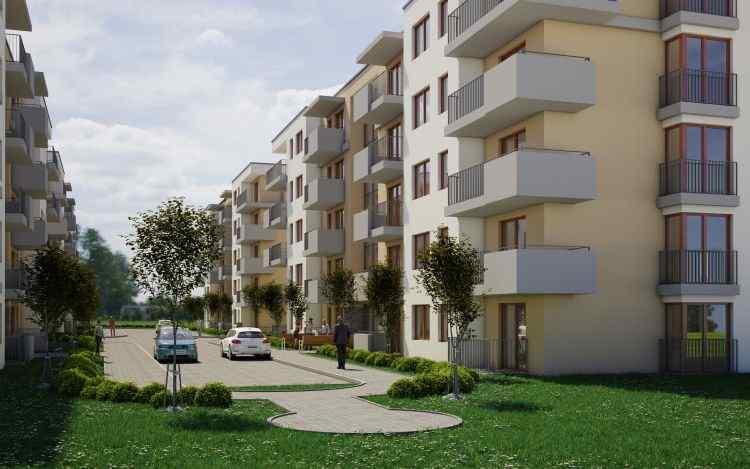 Nowe mieszkanie Kraków 64.10m2, mieszkanie na sprzedaż