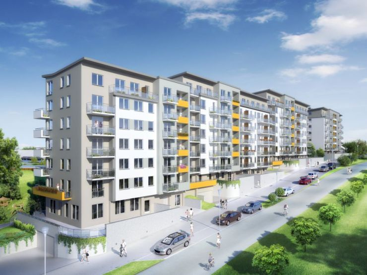 lokale użytkowe na sprzedaż, mieszkania na sprzedaż , Osiedle Enklawa rodzinna, Kraków, Podgórze Duchackie, ul. Kordiana - KRN.pl