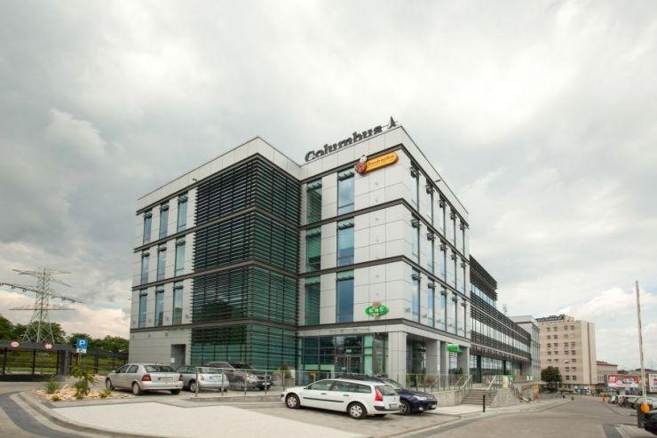 Columbus Office Center, Kraków, Mistrzejowice, ul. Piasta Kołodzieja - KRN.pl