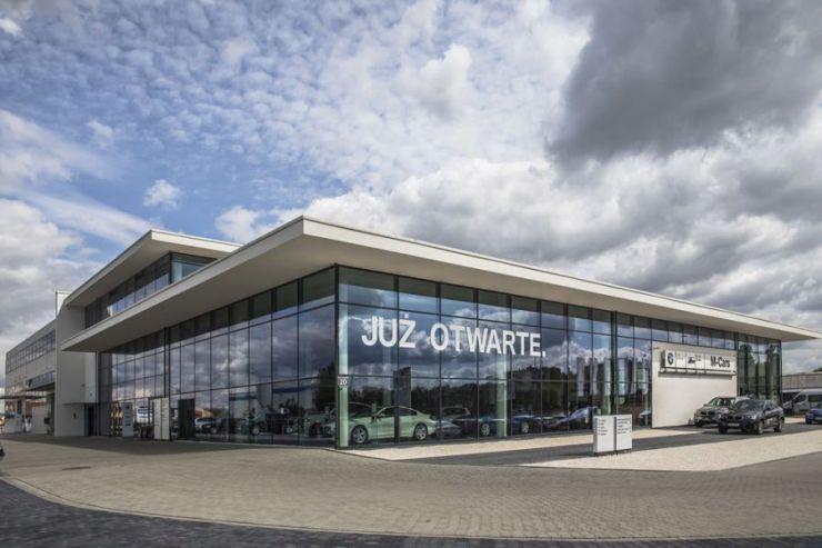BMW Office, Kraków, Prądnik Biały, ul. Conrada - KRN.pl