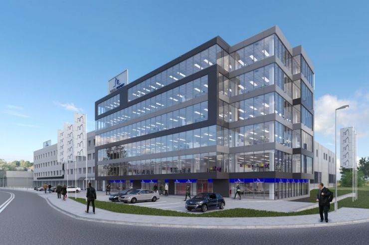 lokale użytkowe na sprzedaż , Wilga Business Center, Kraków, Łagiewniki, ul. J. Marcika - KRN.pl