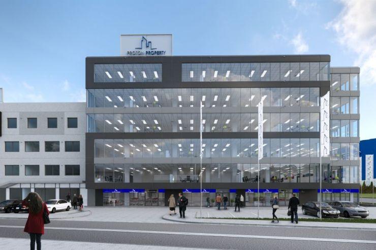 FYI REALESTATE, Wilga Business Center, Kraków, Łagiewniki, ul. J. Marcika - KRN.pl