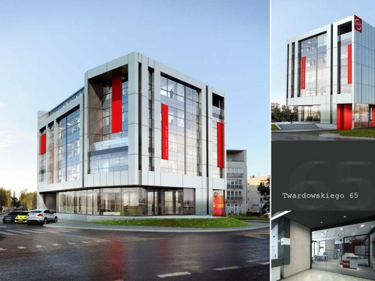 START Office, ul. Twardowskiego 65, Kraków, Dębniki, ul. Twardowskiego - KRN.pl