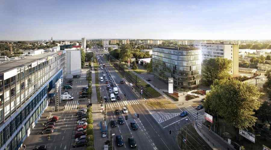 Imperial Business Center, Kraków, Podgórze, ul. Wadowicka - KRN.pl