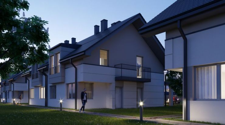 mieszkania na sprzedaż, domy , Osiedle Lawendowa 3, Zielonki, ul. Lawendowa - KRN.pl