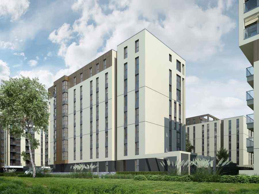 Nowa 5 dzielnica, lokale użytkowe na sprzedaż, mieszkania na sprzedaż , Kraków, Krowodrza, ul. Wrocławska - KRN.pl