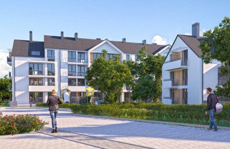mieszkania na sprzedaż, domy , WBG DEVELOPMENT Sp. z o.o., Wieliczka, ul. Zbożowa - KRN.pl
