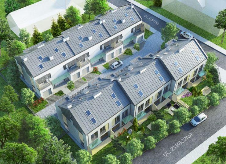 domy , Ancona Development Sp. z o.o., Warszawa, Białołęka, ul. Fortel - KRN.pl