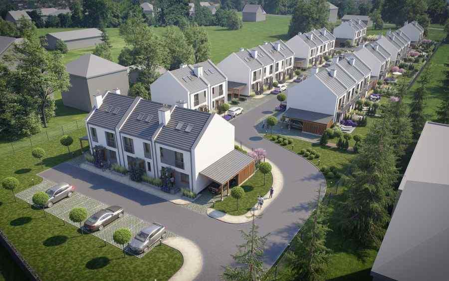 Wrząsowice, domy , Invest House S.A. - KRN.pl
