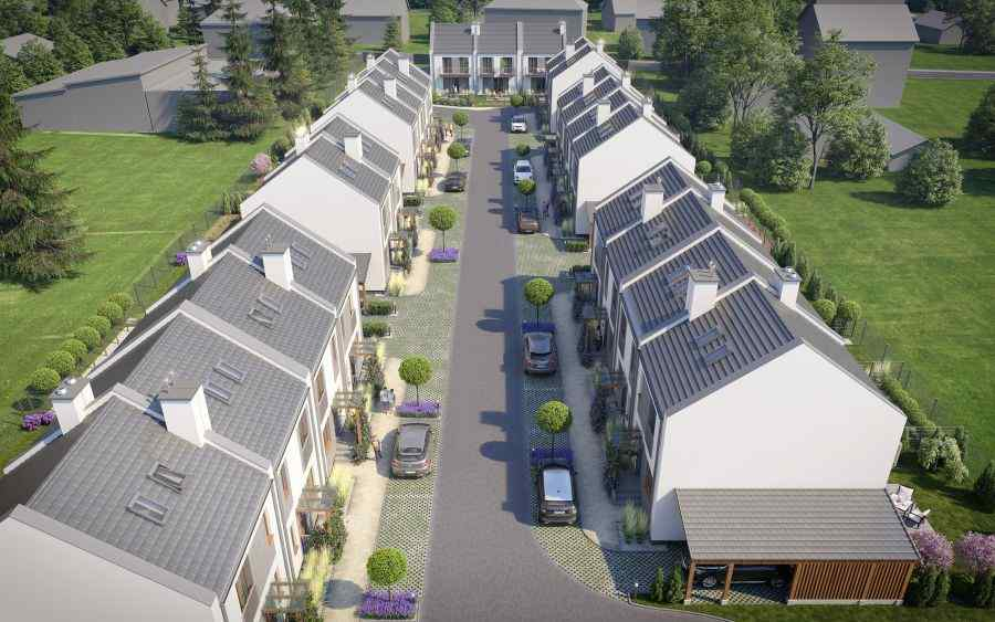 Invest House S.A., domy , Wrząsowice - KRN.pl
