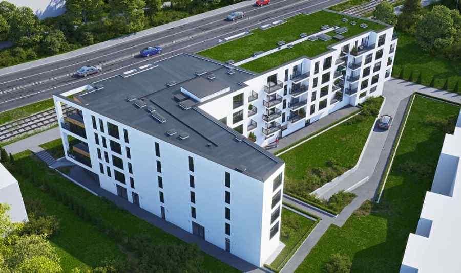 HUB Hoffmanowej, mieszkania na sprzedaż , Kraków, Łagiewniki, ul. K. Hoffmanowej - KRN.pl