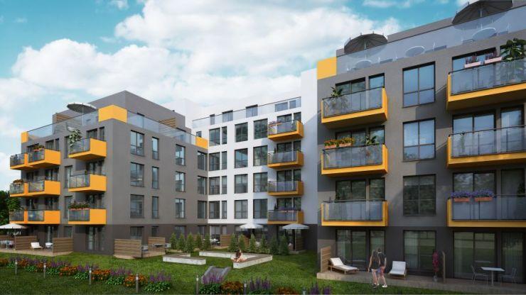mieszkania na sprzedaż , G KKS 1 Investment Sp. z o.o. sp. k., Kraków, Podgórze, ul. Gromadzka - KRN.pl
