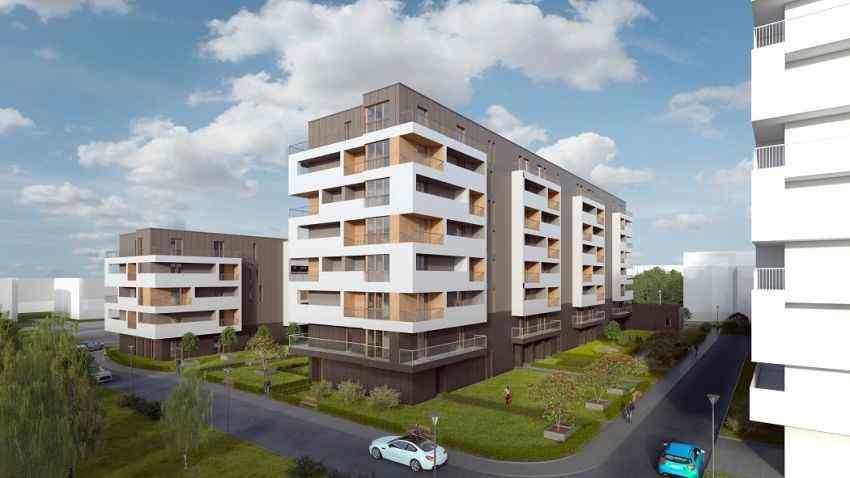 mieszkania na sprzedaż , Dasta Invest sp. z o.o., Kraków, Czyżyny, ul. F. Hynka - KRN.pl