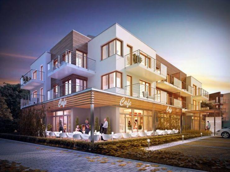 mieszkania na sprzedaż , Hotel KLIF JK Inwest-Hel sp. z o.o. Sp. k., Kąty Rybackie, ul. Portowa - KRN.pl