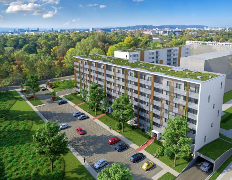 mieszkania na sprzedaż , Grupa BUMA, Kraków, Stare Miasto, ul. bp. J. Prandoty - KRN.pl