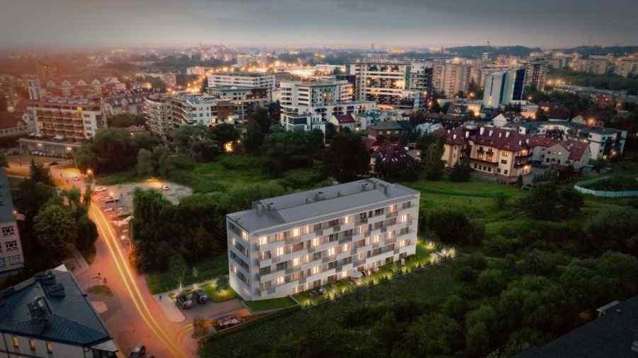 mieszkania na sprzedaż , Grupa Deweloperska START, Kraków, Dębniki, ul. Pszczelna - KRN.pl