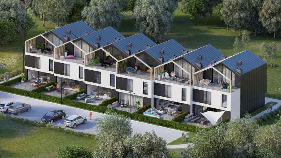 Modern Living Development Sp. z o.o., Mhill, Myślenice, ul. Zacisze - KRN.pl