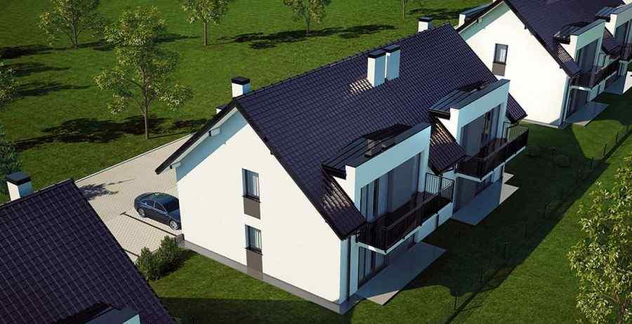 mieszkania na sprzedaż , ARKON Inwestycje Sp z o.o. sp.k., Modlnica, ul. Wierzbowa - KRN.pl