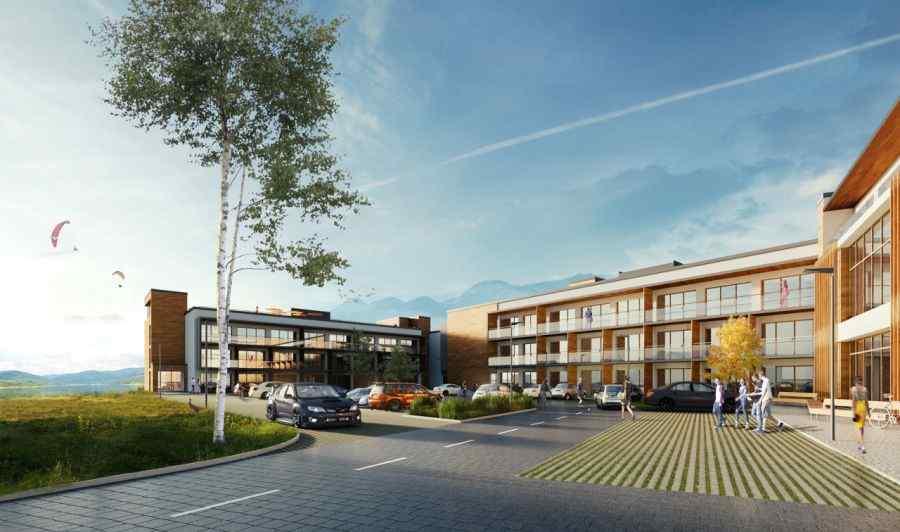 mieszkania na sprzedaż , SUN & SNOW Resorts - Solina, Polańczyk, ul. Równa - KRN.pl