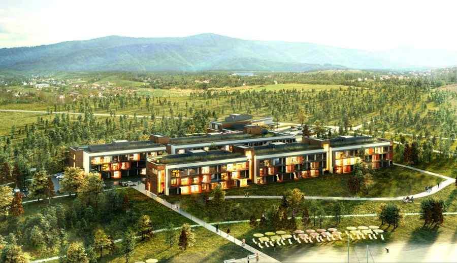 SUN & SNOW Resorts - Solina, mieszkania na sprzedaż , Polańczyk, ul. Równa - KRN.pl