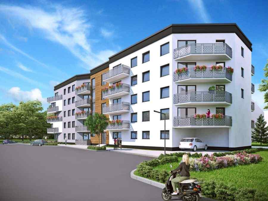 mieszkania na sprzedaż , Srebrne Kąty, Krzeszowice, ul. Szarych Szeregów - KRN.pl