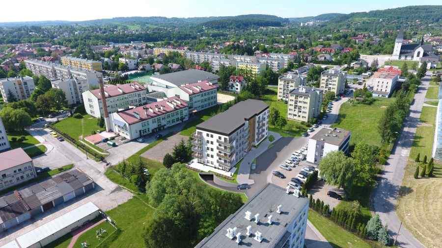 mieszkania na sprzedaż , Ban Bożek Sp. z o.o. Sp k., Krzeszowice, ul. Szarych Szeregów - KRN.pl