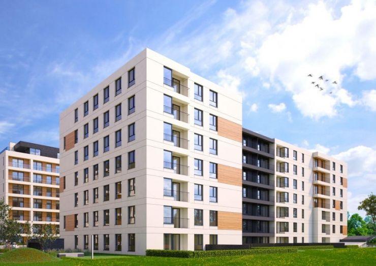 mieszkania na sprzedaż , ul. Dąbska/Lema Etap III, Kraków, Grzegórzki, ul. Dąbska - KRN.pl