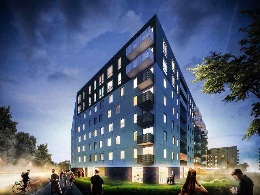 Henniger Investment S.A., Mieszkaj w mieście Etap 3.3, Kraków, Bronowice, ul. Wizjonerów - KRN.pl