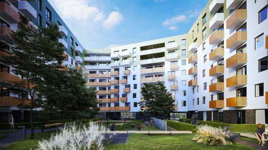 mieszkania na sprzedaż , Henniger Investment S.A., Kraków, Bronowice, ul. Wizjonerów - KRN.pl